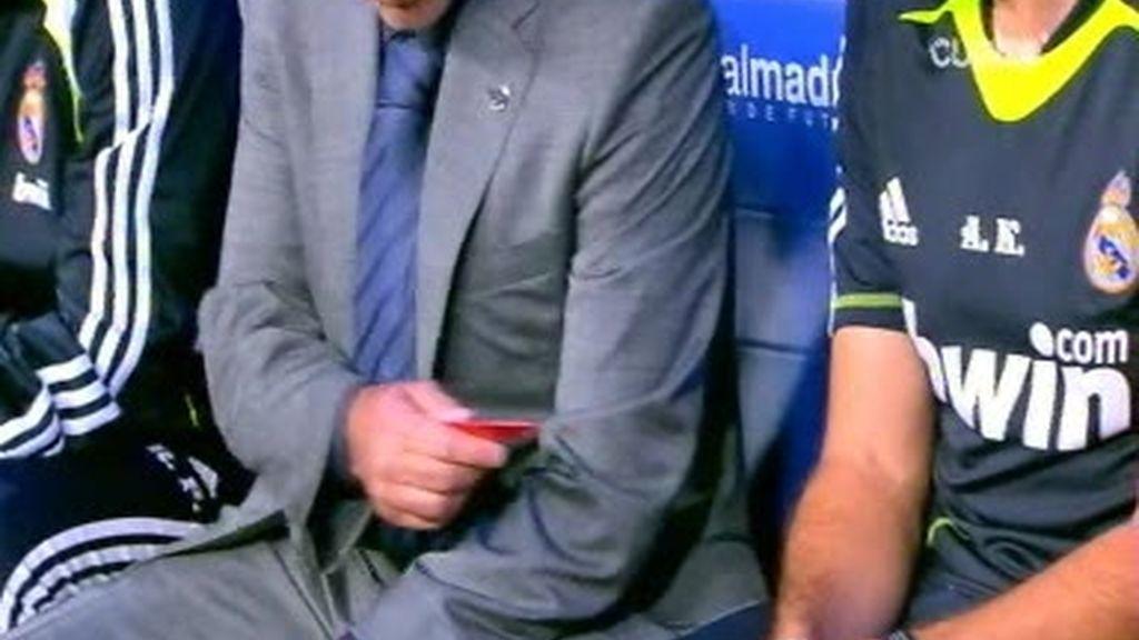 Mourinho y los chicles, una relación intensa
