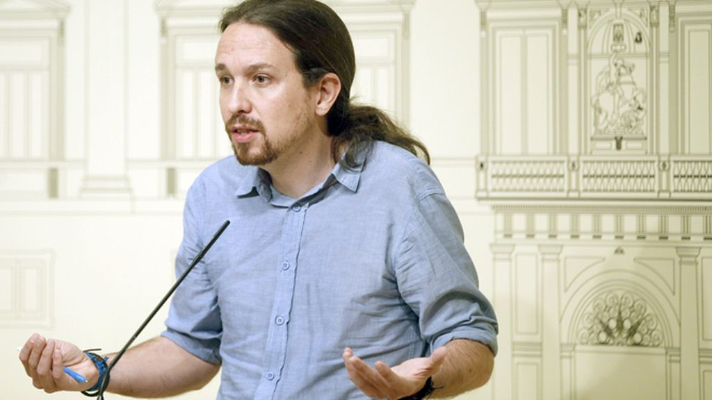 "Pablo Iglesias se remite a la plurinacionalidad e insiste: ""defenderemos un referéndum"""