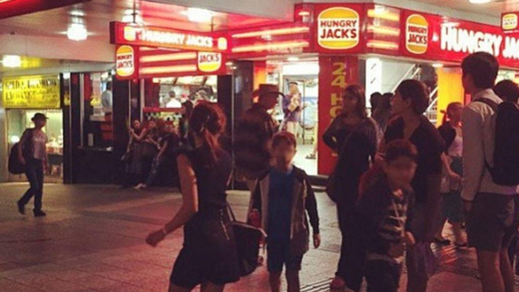 Un 'Hungry Jack's', franquicia de Burger King en Australia