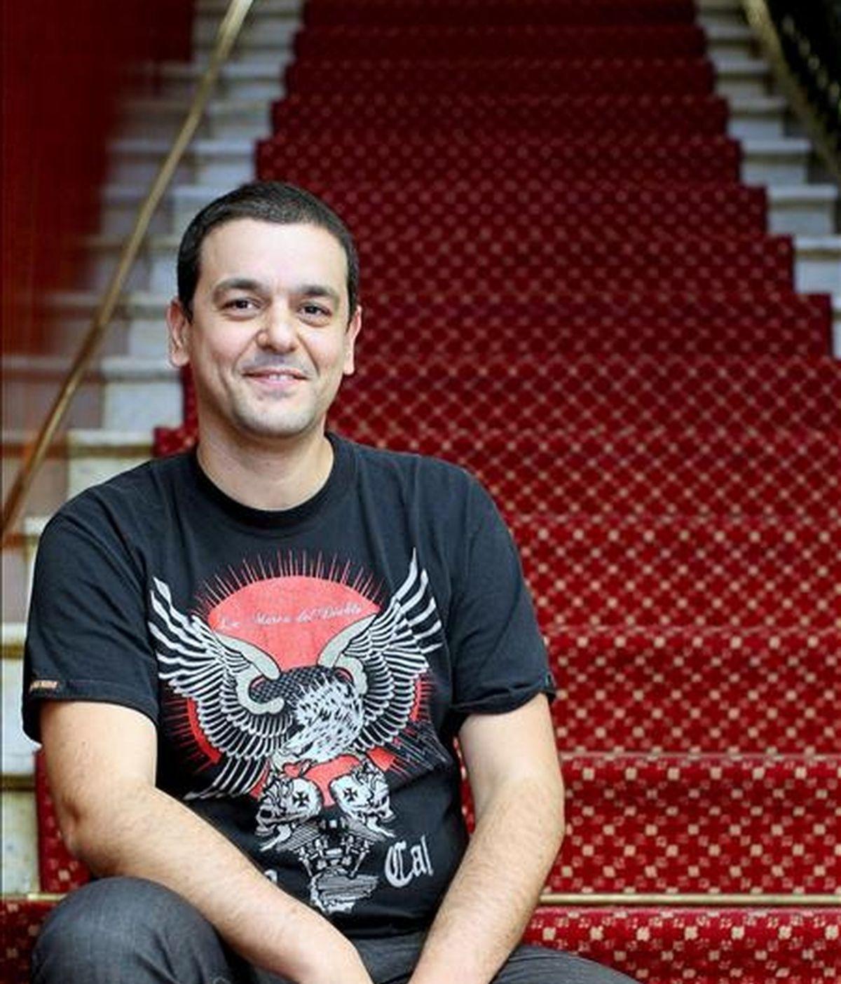 El director de cine, dibujante y guionista de comics francés Joann Sfar. EFE
