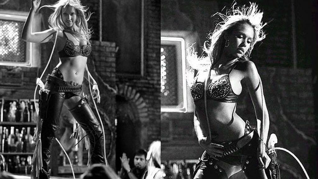 Jessica Alba en 'Sin City'
