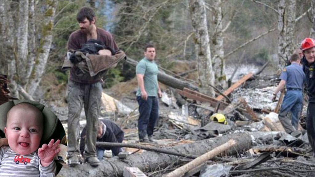 El rescate de un bebé de 22 semanas entre los escombros en Oso