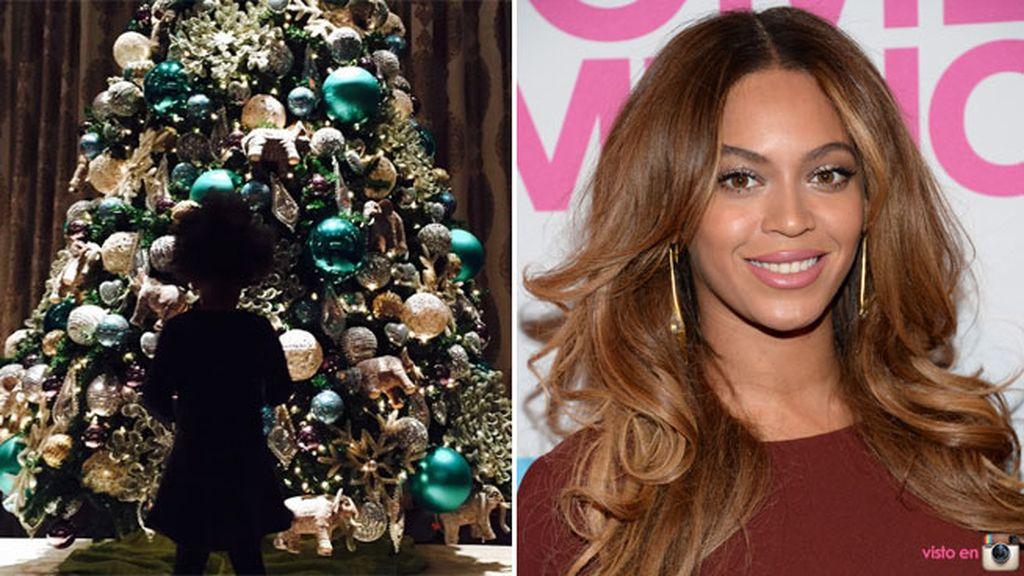 Beyoncé y Blue Ivy han sido de las primeras en decorar la casa