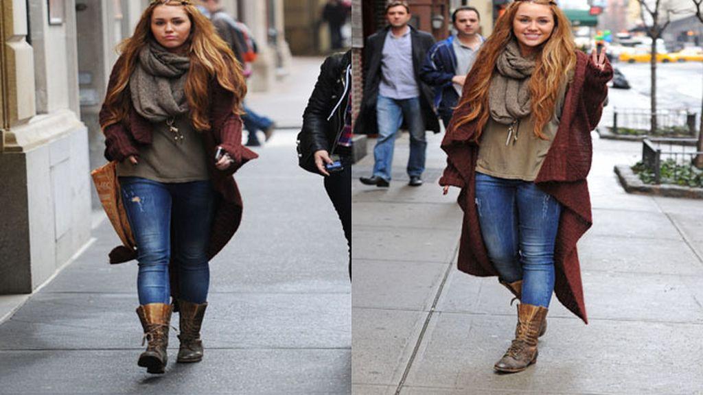 Botas y abrigos largo