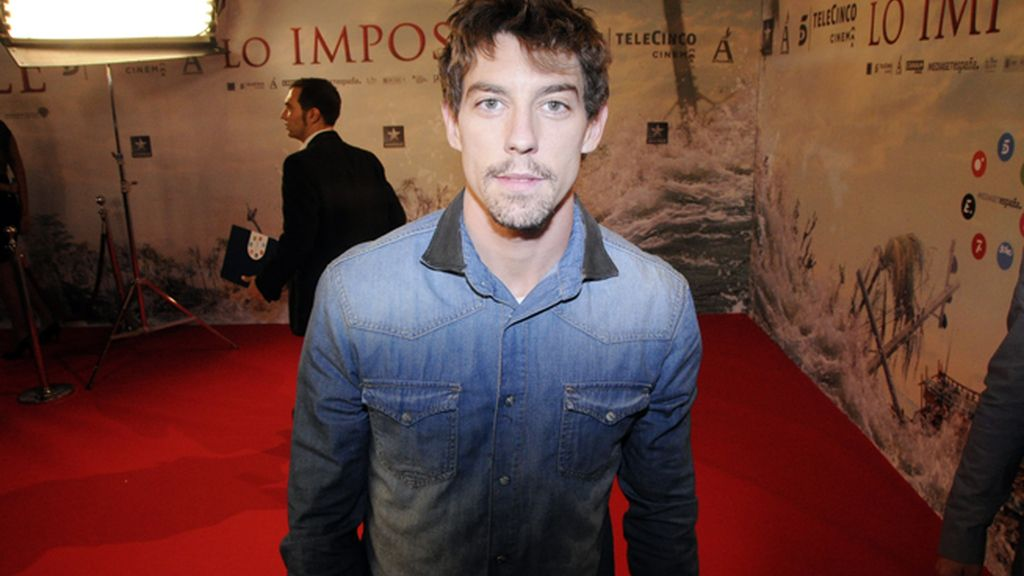 El actor Adrián Lastra