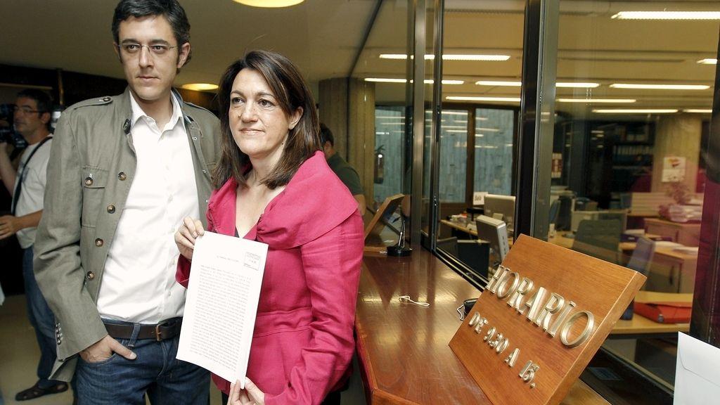 Eduardo Madina y Soraya Rodríguez en el TC