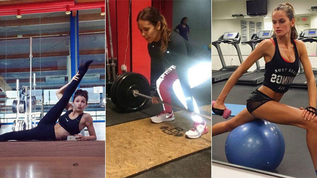 Photo fitness: las vips nos demuestran cómo se ponen en forma
