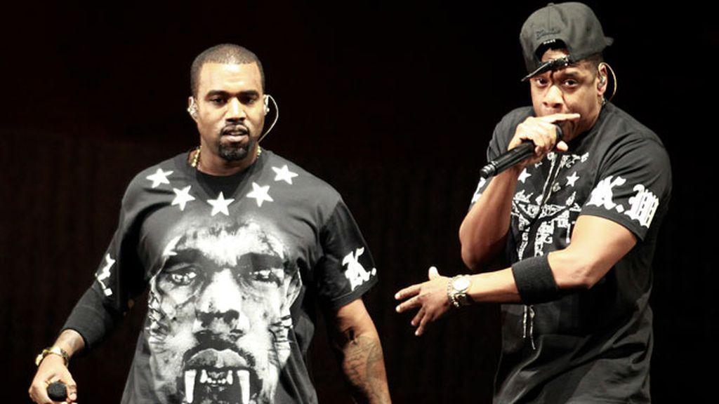 9. Los raperos Jaz-Z y Kayne West ganaron 47 millones en 31 conciertos