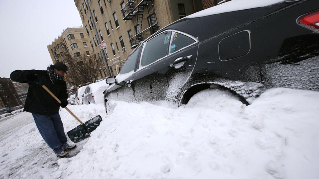 La tempestad de nieve que azota EEUU, en imágenes