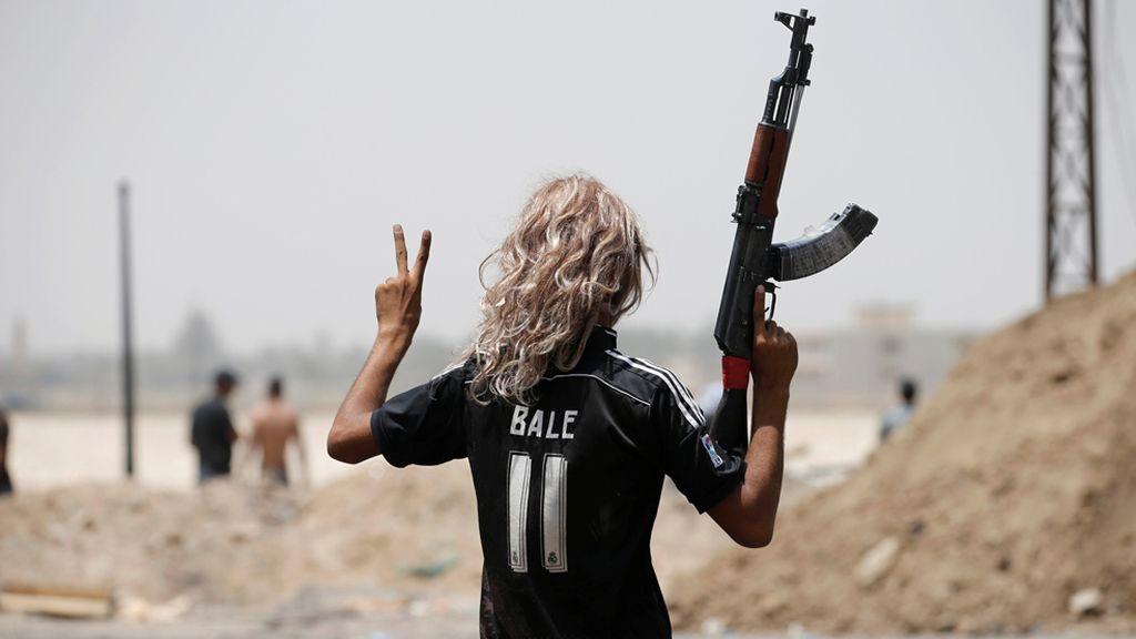 Militar iraki y merengue