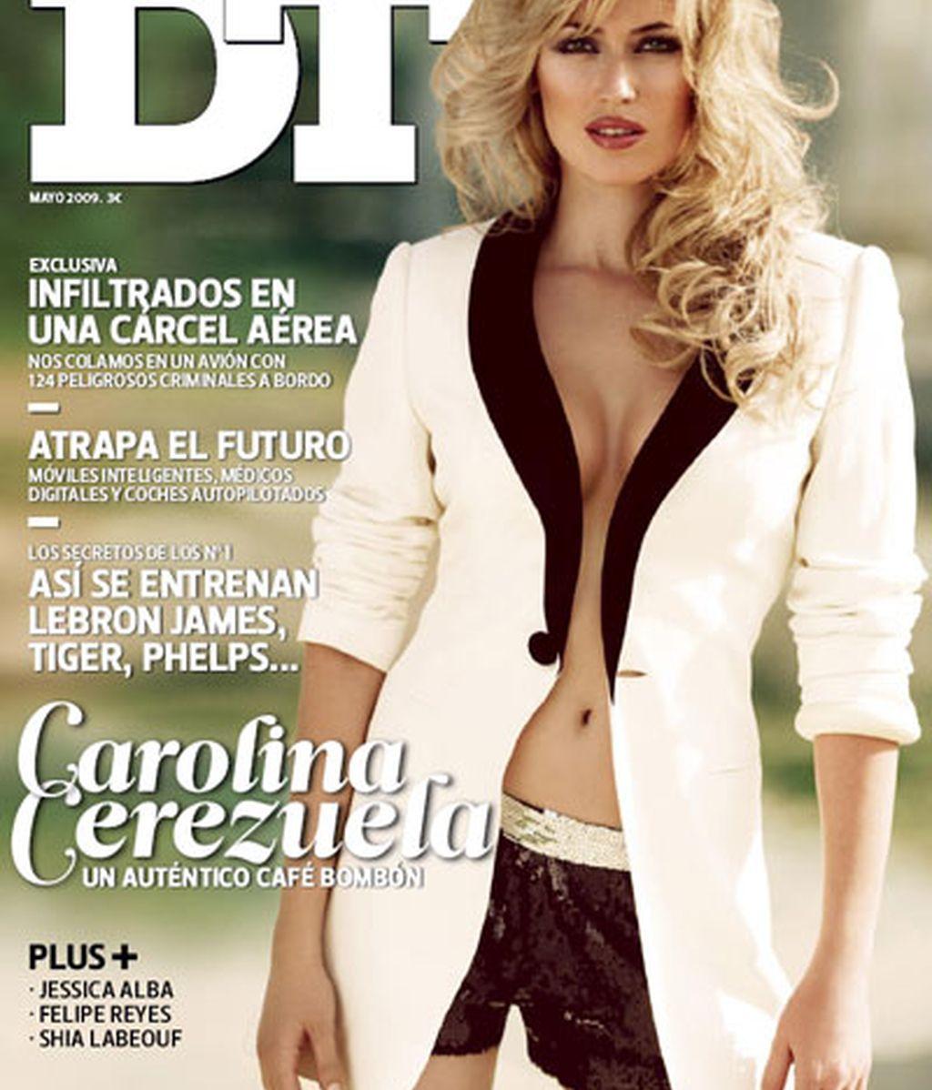 Carolina Cerezuela, sensualidad en DT