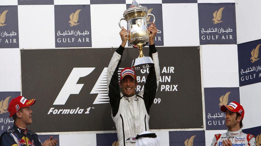 Un inglés, un alemán y un italiano...3 escuderías y 3 pilotos, el podio del GP de Bahrein