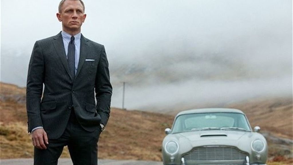 Roban cinco coches de James Bond en Alemania