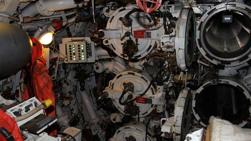Los compartimentos estancos del submarino Ocelot