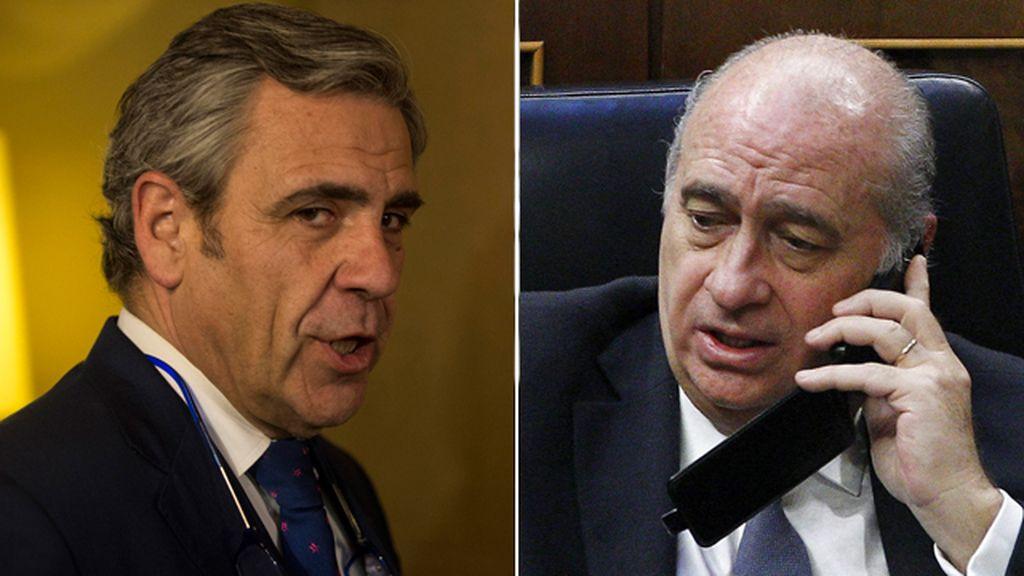 Daniel de Alfonso y Jorge Fernández Díaz