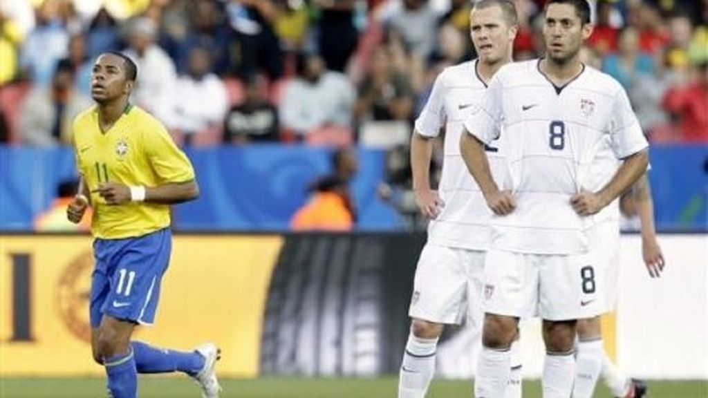 EEUU-Brasil, en imágenes