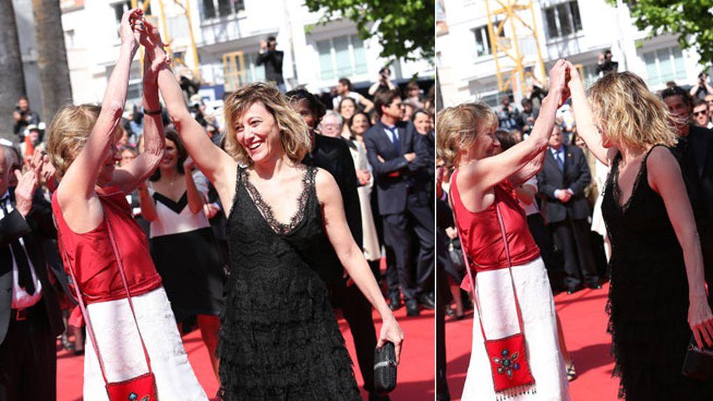 Marisa Borini y Valeria Bruni Tedeschi, madre e hija, comparten pantalla
