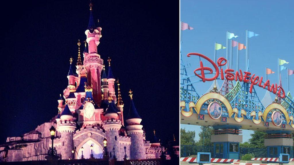 Bustamante deja a Paula en Disneyland por motivos de trabajo