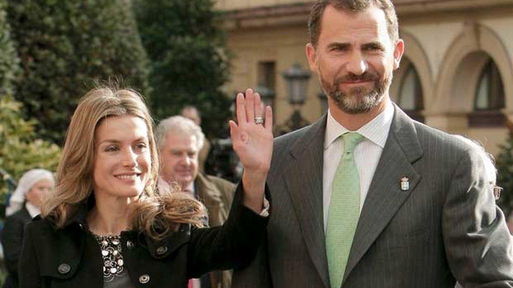 Don Felipe y Doña Letizia ya están en Asturias