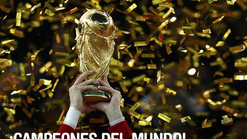El fútbol nos lo debía: España es campeona del Mundo.