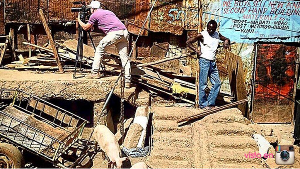 """""""Perfecta estampa de Kibera"""""""
