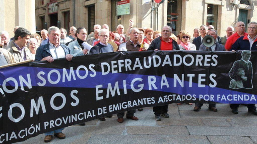 emigrantes gallegos,emigrantes españoles sancionados por Hacienda,