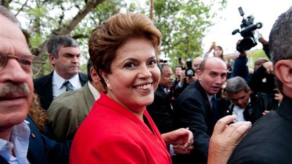 Dilma Rousseff en la foto, actual presidente de Brasil, hace apenas unos años un país con una economía emergente, ahora la sexta del mundo.