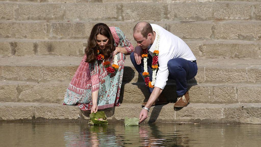 Ofrendas florales en Bombay