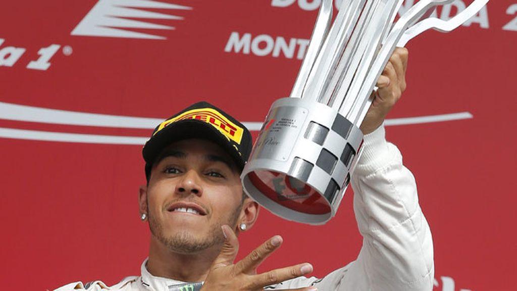 Hamilton vuelve a lo más alto en Canadá