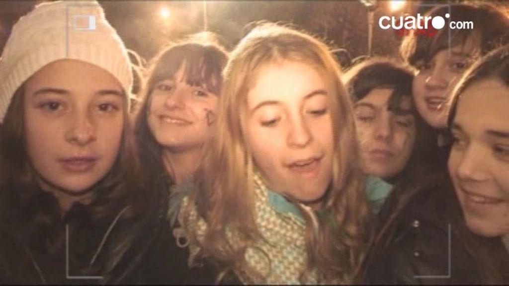 EXCLUSIVA: Los fans de Justin Bieber lo dan todo por su ídolo