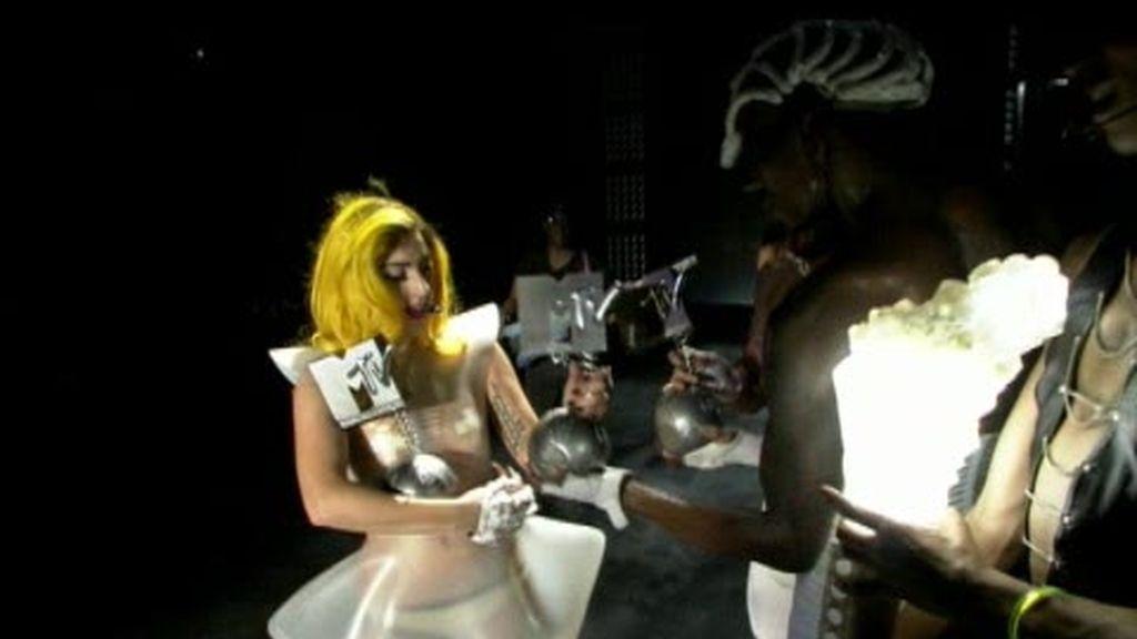Lady Gaga, la reina de los MTV