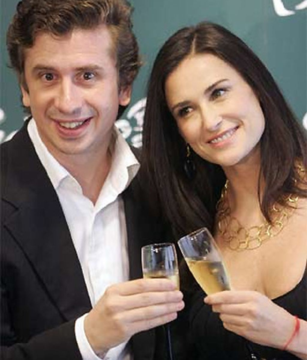 Gabino Diego y Demi Moore (2005)