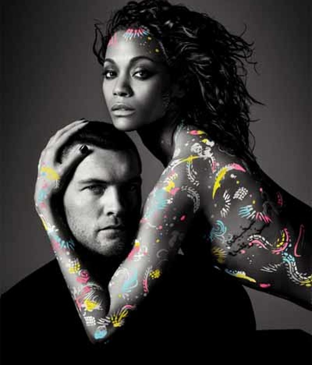 Sam Worthington y Zoe Saldana