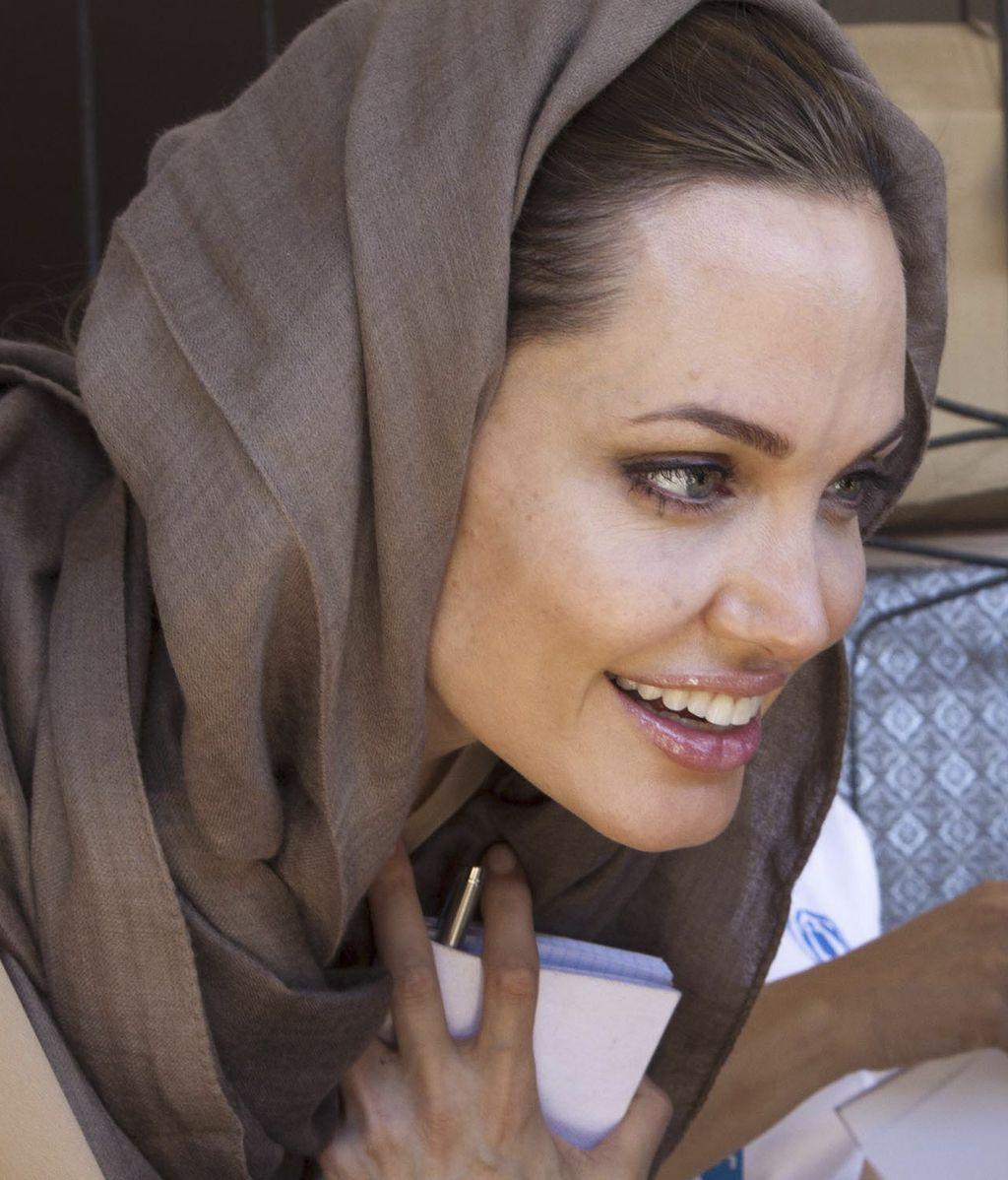 Angelina, una embajadora con glamour