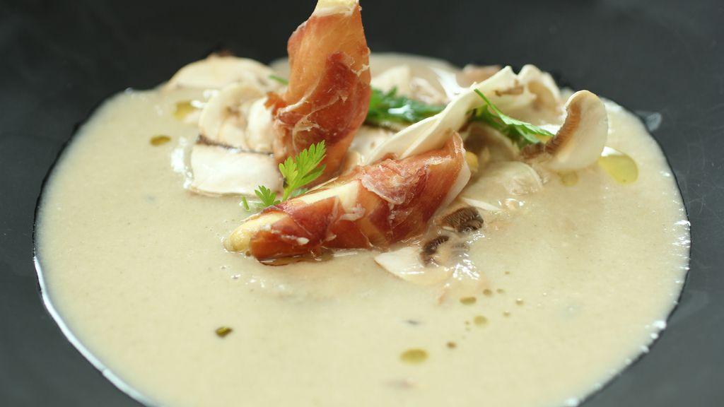 Sopa de champiñones de 'Robin Food'