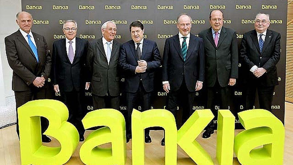 Imputados los directivos de Bankia