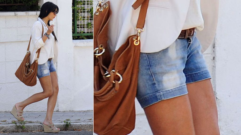 Los shorts de Pilar Rubio