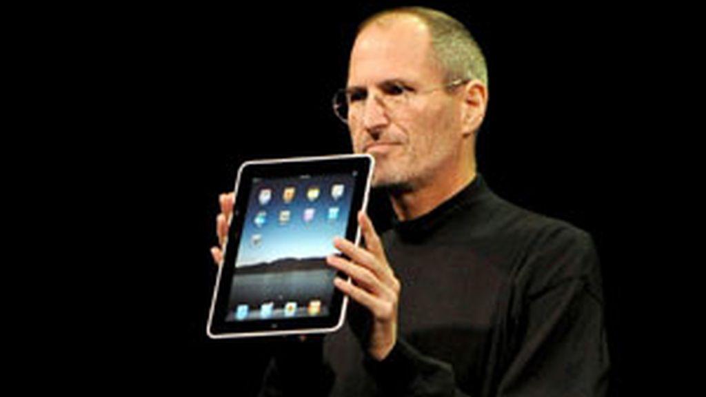 Steve Jobs presentó el Ipad el pasado año. Foto: EFE