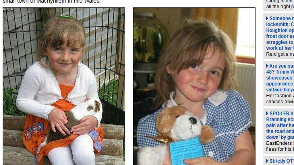 April Jones, desaparecida en Gales