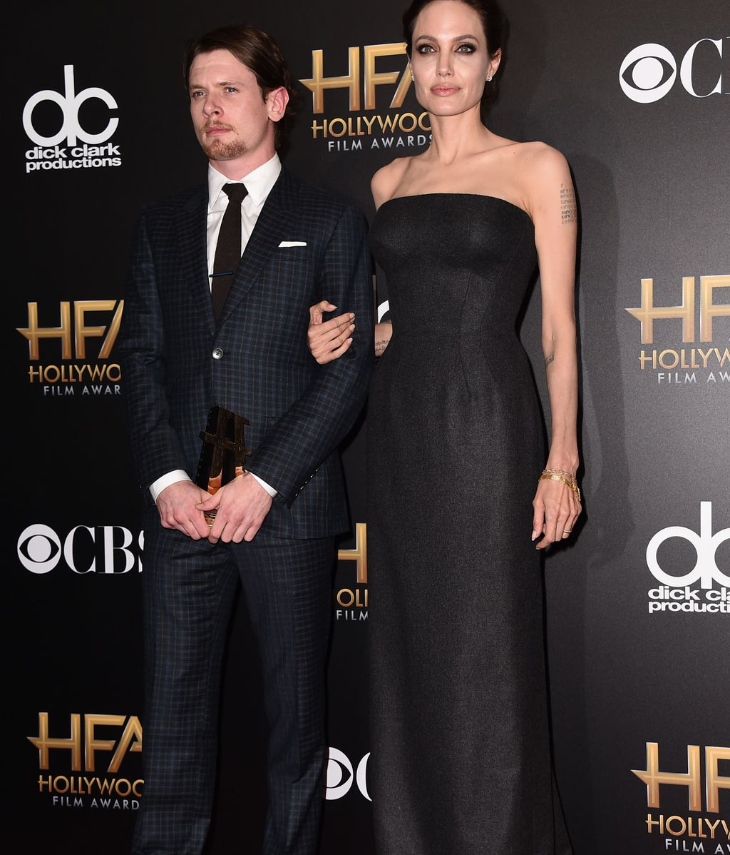 Jack O'Donell y Angelina Jolie