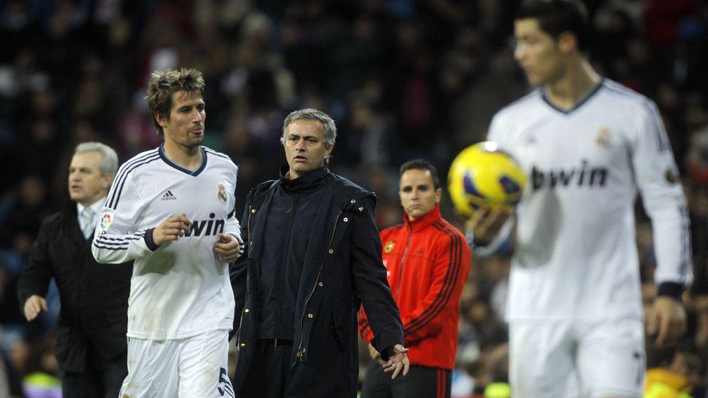 Mourinho, Cristiano Ronaldo, Coentrao