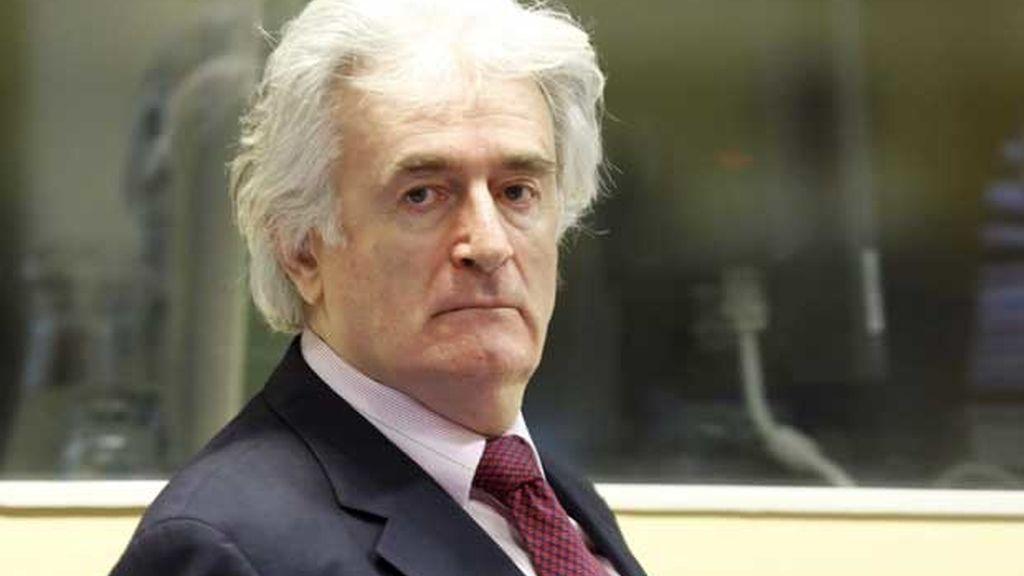 Radovan Karadzic ante la corte de La Haya por primera vez