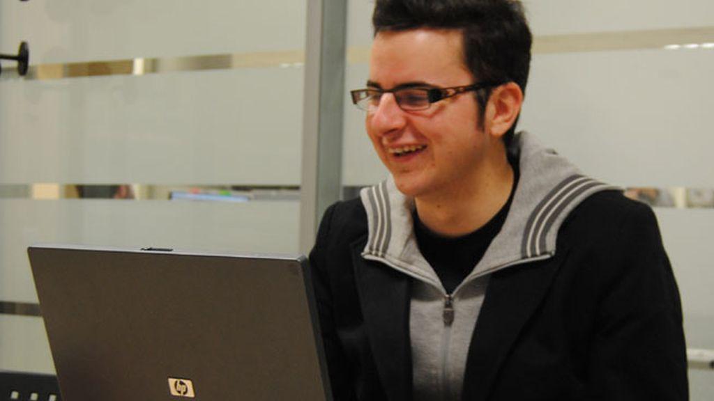 Daniel visita Cuatro.com