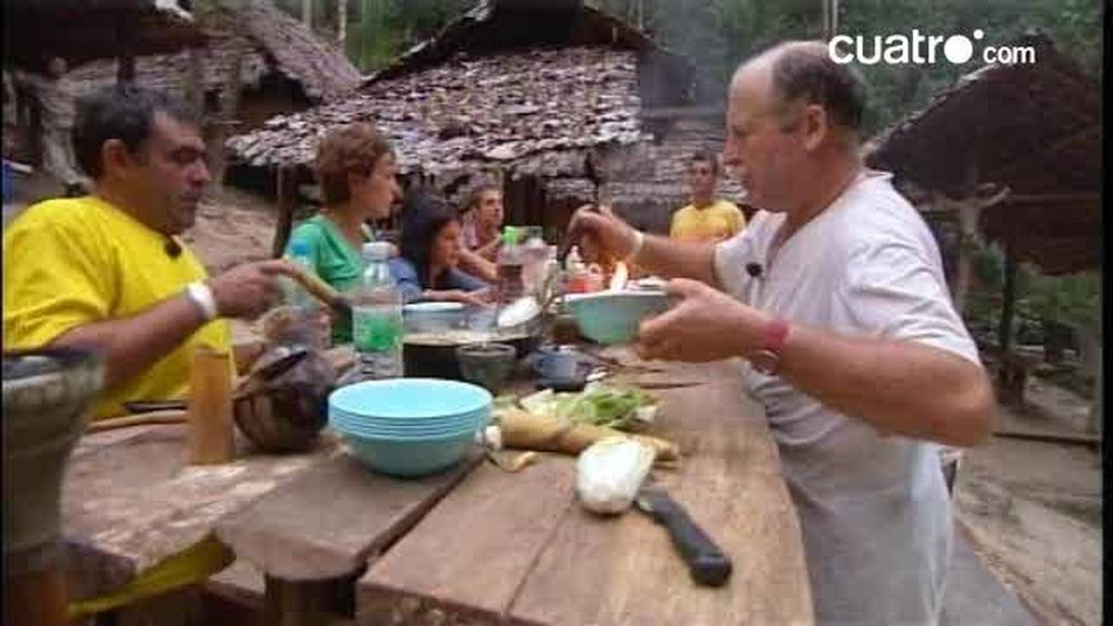 Concurso de cocina en Pekín Express. ¿Una receta para evitar la soledad?