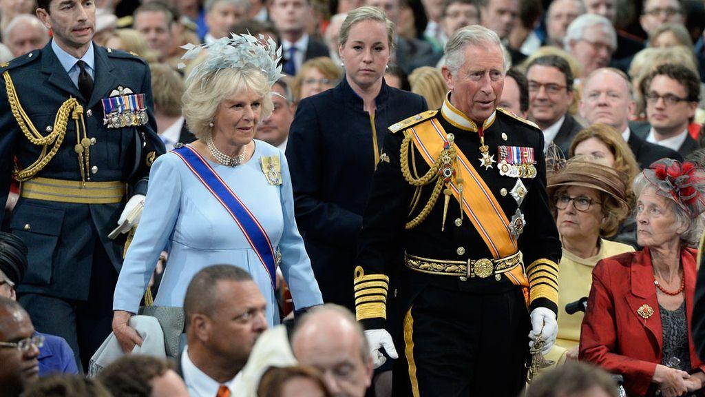 El Príncipe Carlos de Inglaterra y sy mujer, Camila