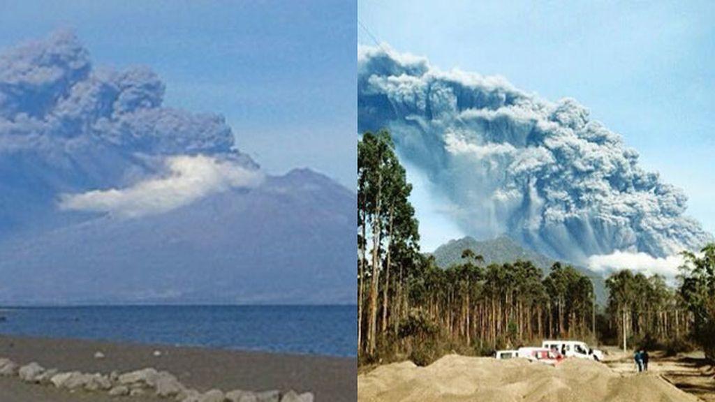 El volcán Calbuco se reactiva tras varios días de calma