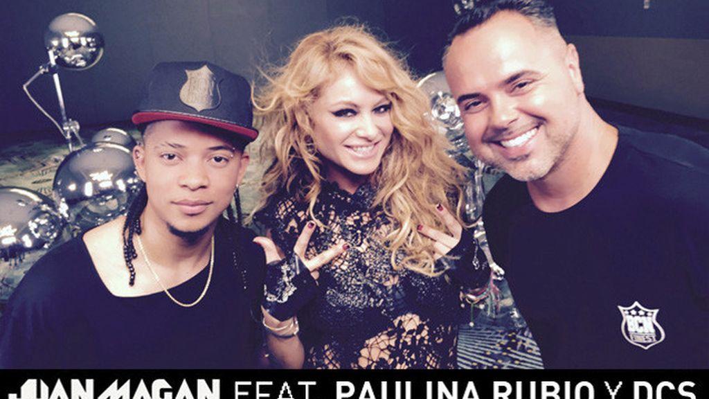 """""""Vuelve"""" es el nuevo hit de Juan Magán con la colaboración de Paulina Rubio y DCS"""