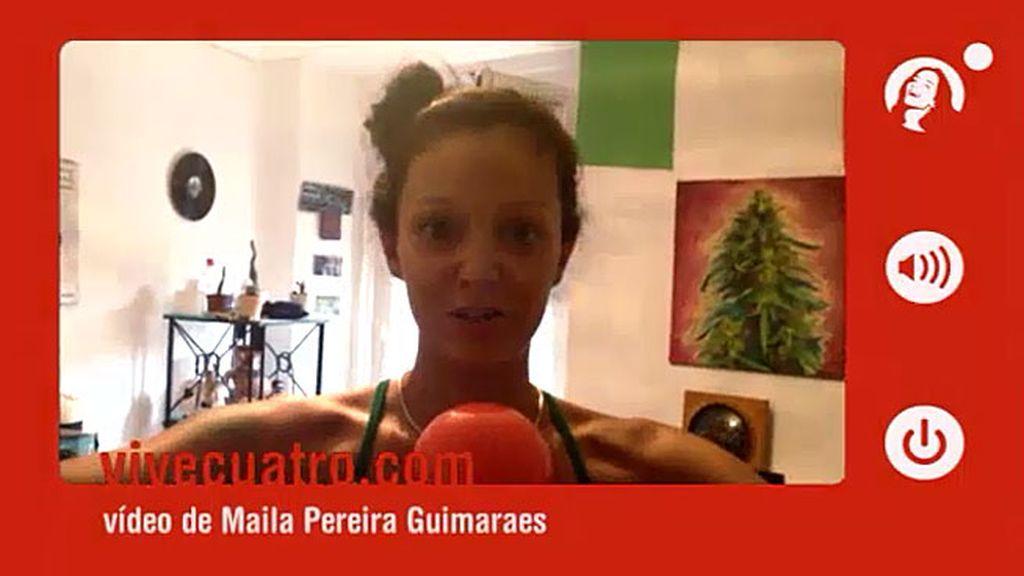 Maila Pereira Guimaraes ¡vive Cuatro!