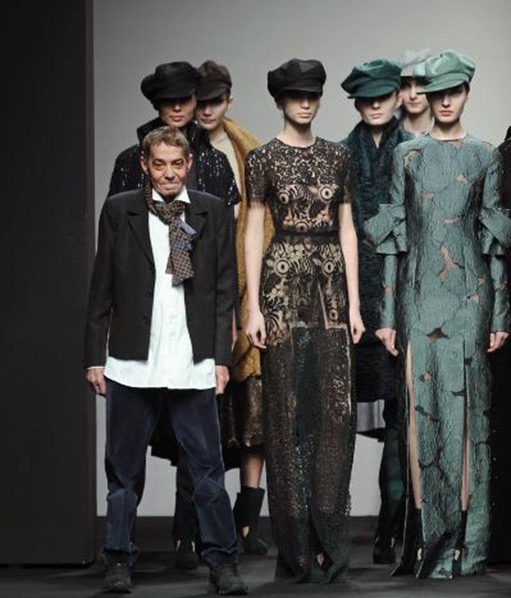 Desfiló en la semana de la moda de Madrid hasta este 2011