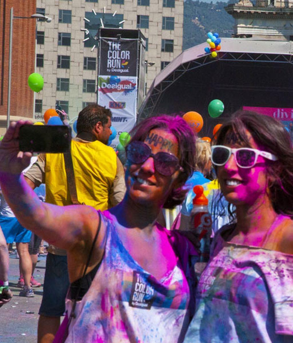Selfie colorido